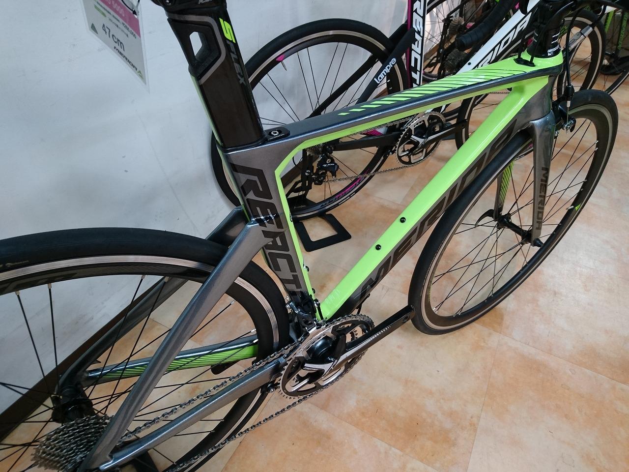 REACT4000 カラー:マットUDカーボン/グリーン サイズ:50