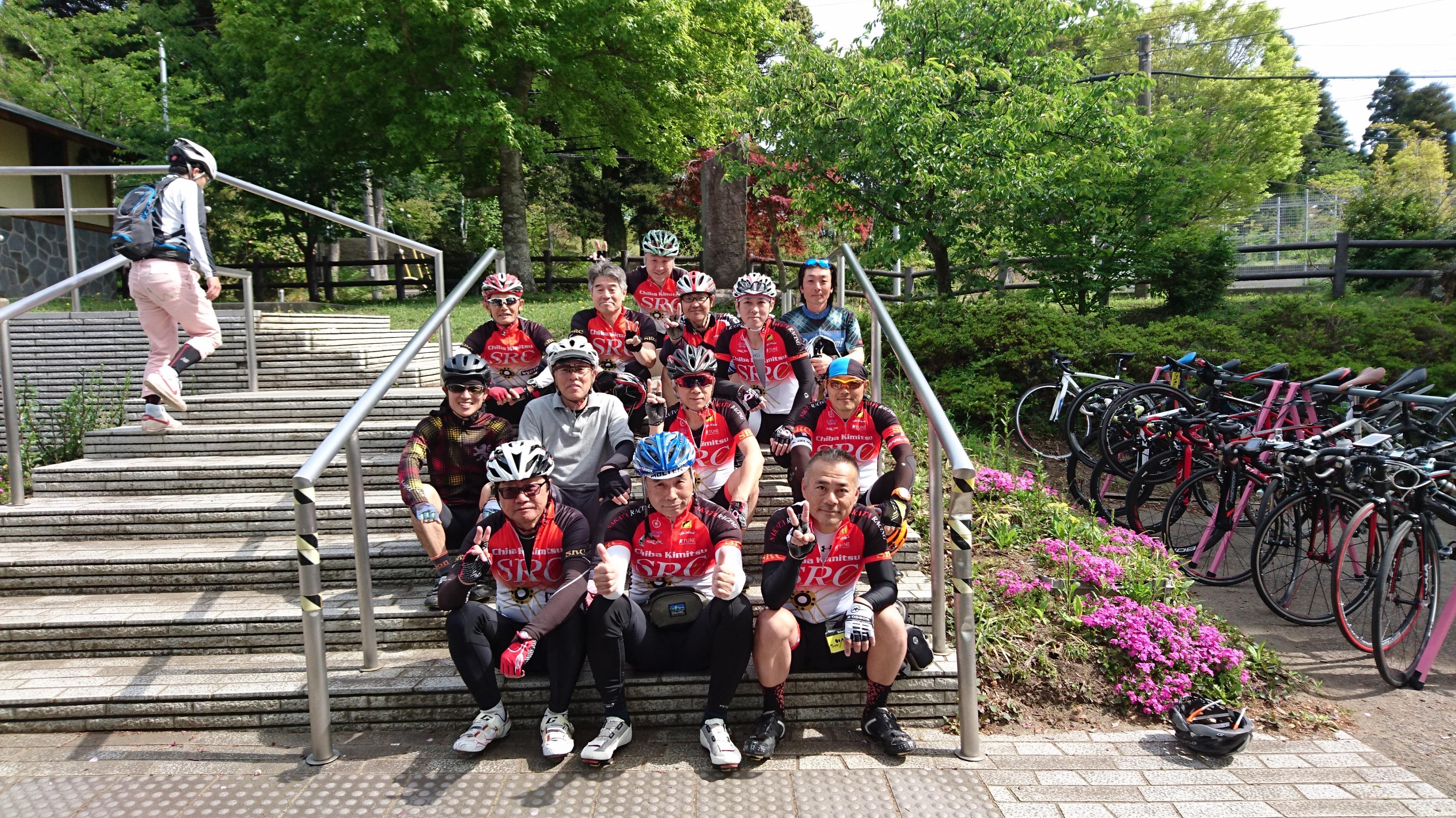 初めての鹿野山サイクリング