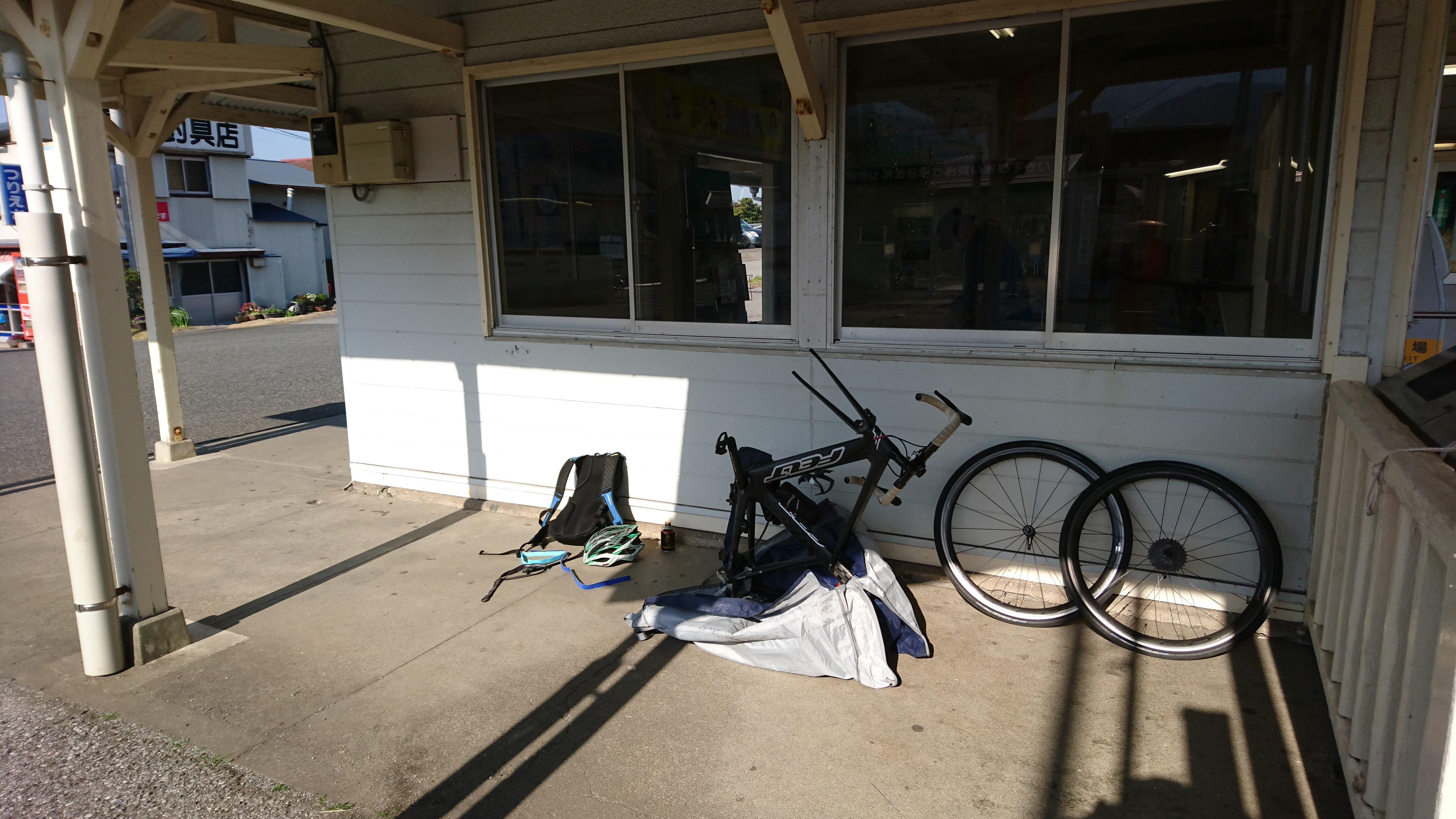 ビギナー向け輪行サイクリングin三崎の下見に行って来ました