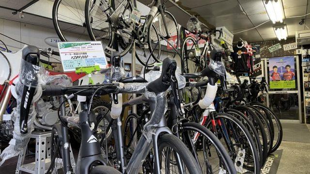 2021年4月22日現在の自転車完成車&試乗車最新在庫情報
