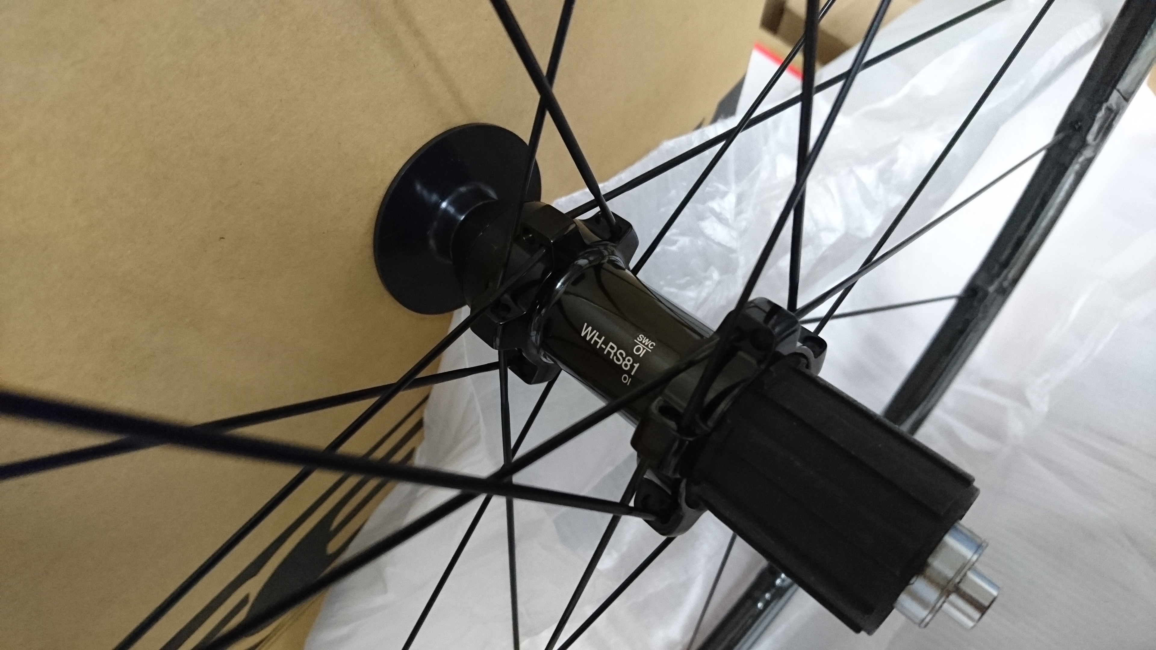 Shimano(シマノ)WH-RS81-C24-CL)入荷