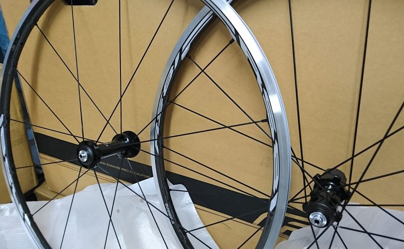 Shimano(シマノ)軽量クリンチャーホイルWH-RS81-C24-CL入荷